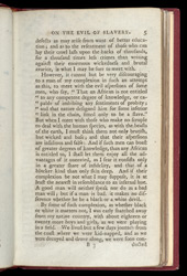 Thoughts And Sentiments On The Evil & Wicked Traffic Of The Slavery & Commerce Of The Human Species -Page 5